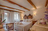 Room in Aosta Valley medieval village
